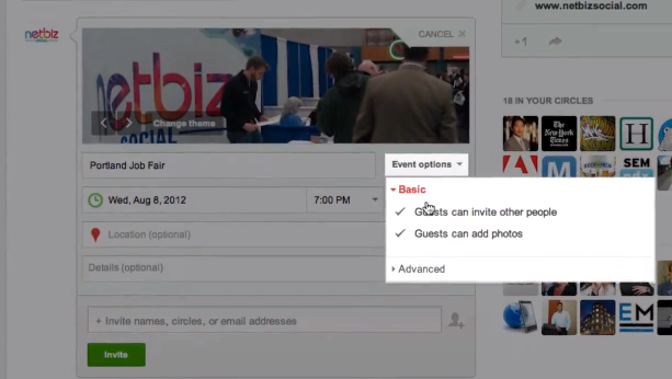 Google Plus Events How to